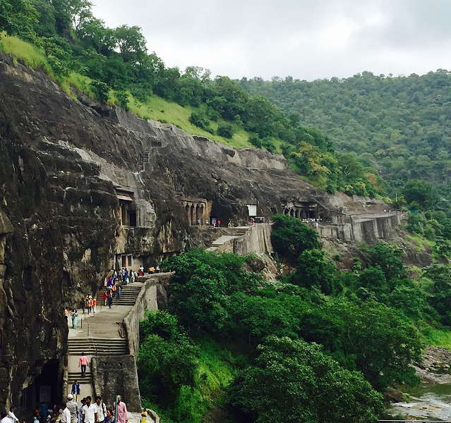 Scenery around Ajanta Caves