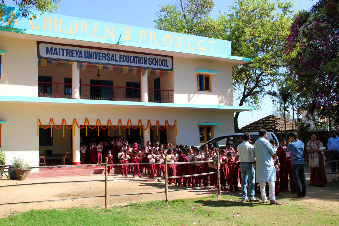 Maitreya School preparing for Kyabje Lama Zopa Rinpoche's visit in 2015