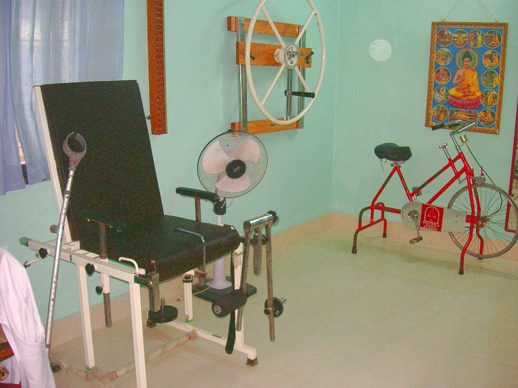 Some of our physiotherapy equipment