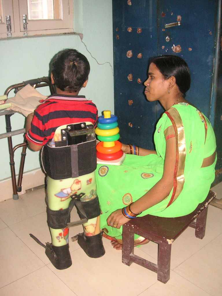 Young patient with disabilty with his mother - 3