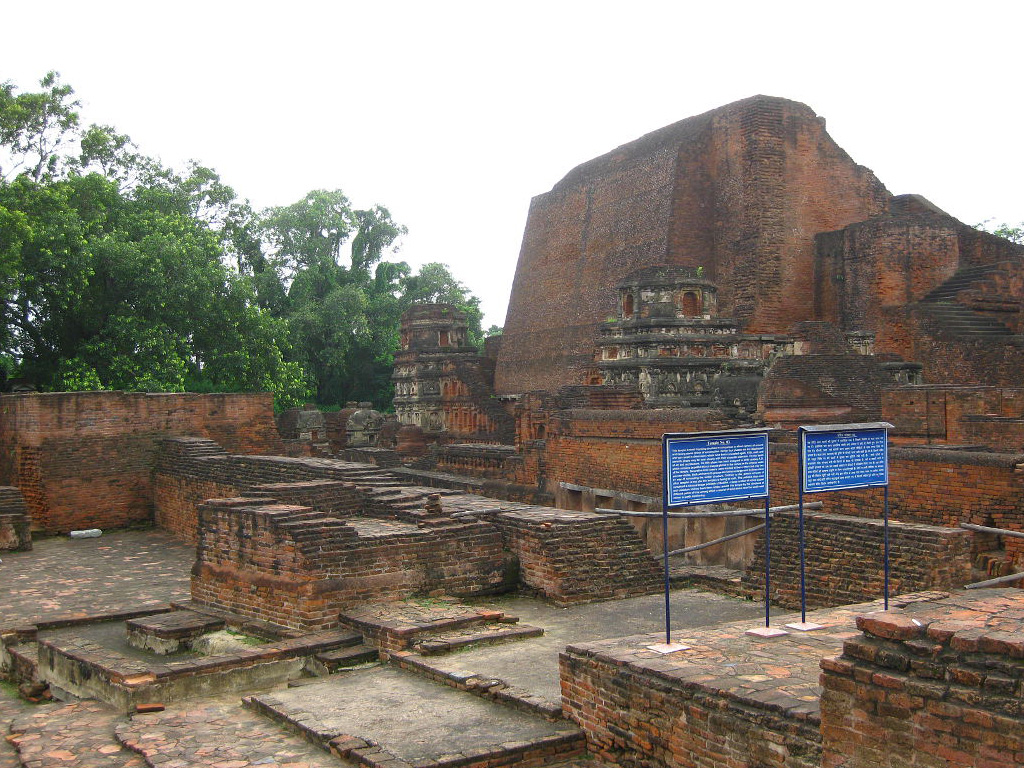 Rajgir – Ruins of the Nalanda University whose great pandits preserved the study and realisation of Buddha Dharma