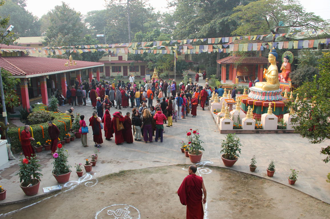Bodhgaya – Root Insitute – Hosting the journey's culmination