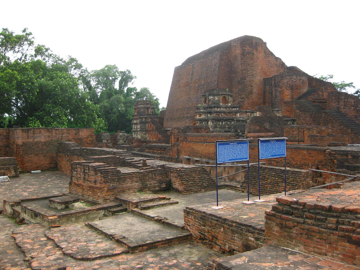 Ruins of the majestic Nalanda University