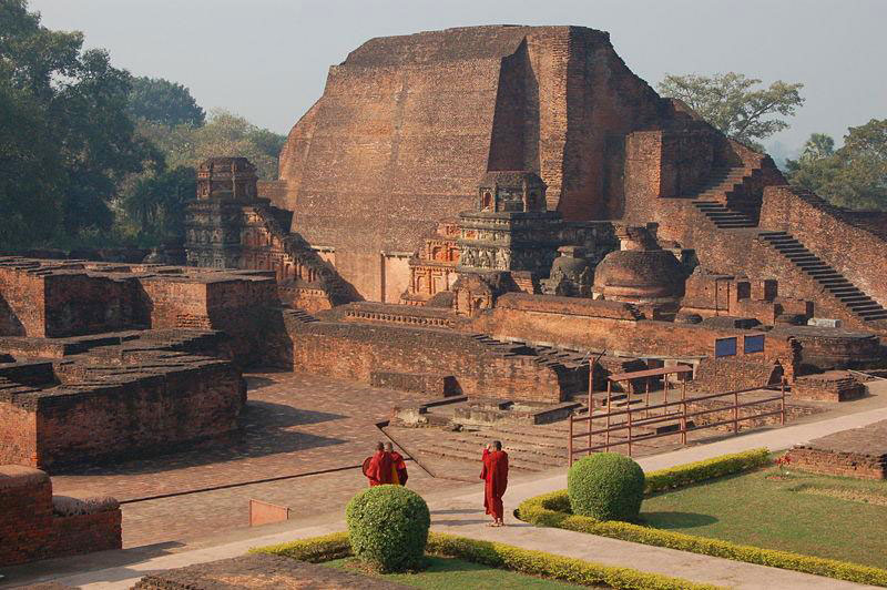 Ruins of the majestic Nalanda University, Rajgir